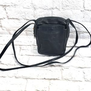 Hobo International Black Leather Crossbody